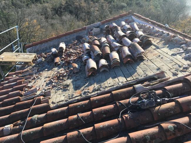 Réfection toiture - Villelongue dels Monts - 2019