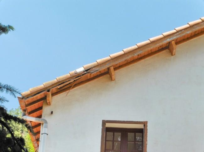 Réfection toiture - Amélie les Bains - 2015