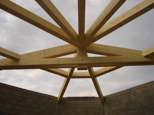 Charpente et panneaux isolants - Le Boulou 2006