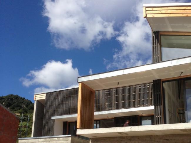 Maison ossature bois - architecte L. Floch - Duilhac sous Peyrepertuse - 2013